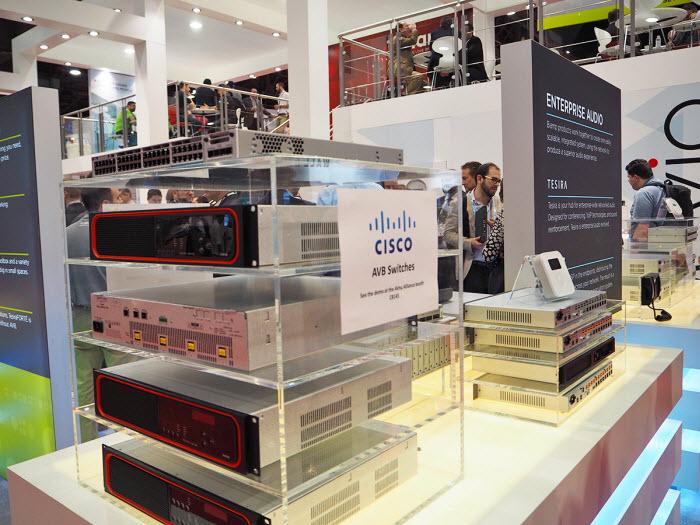 Cisco-AVB Switches