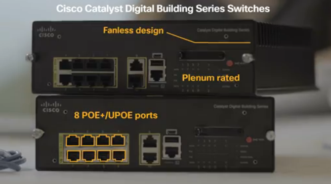 Cisco's New 'Light Switch'-The Catalyst Digital Building