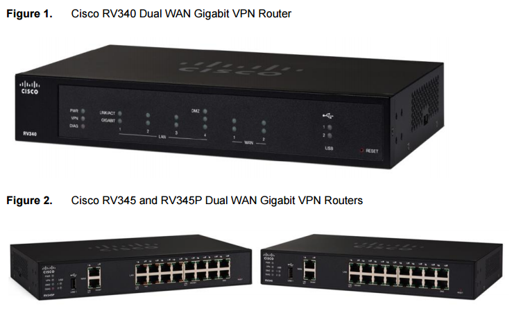The New Cisco RV Series VPN Routers-RV340, RV345 – Router