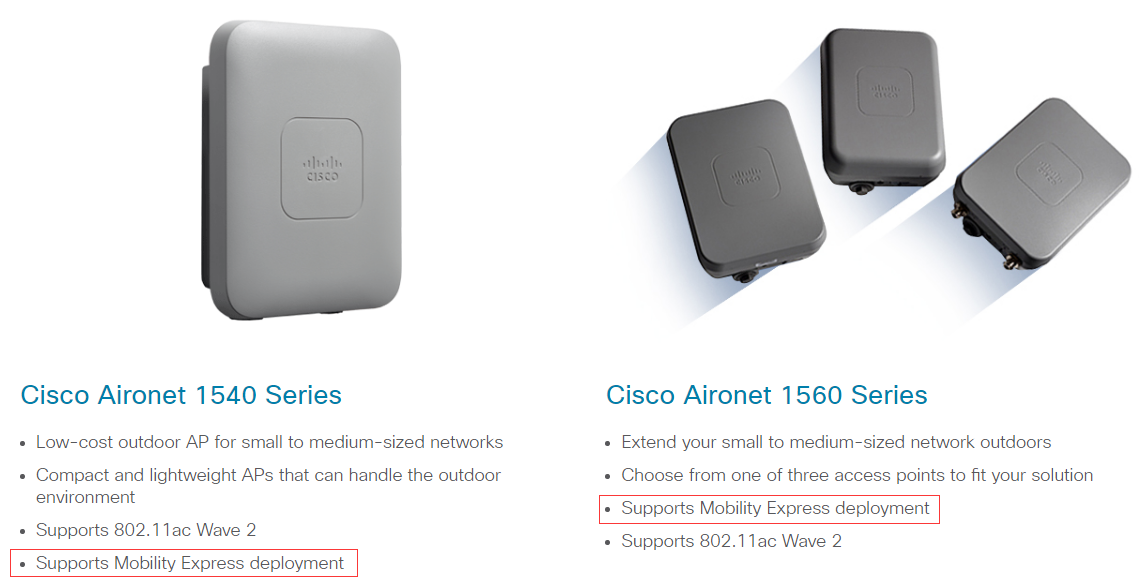 Mobility Express-even better than before – Router Switch Blog