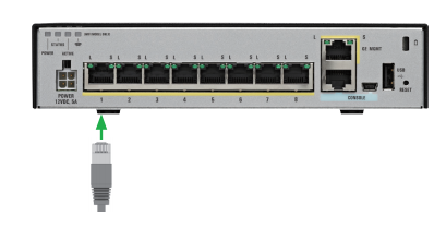 Cisco ASA with Firepower Services, Setup Guide-Part1 – Router Switch