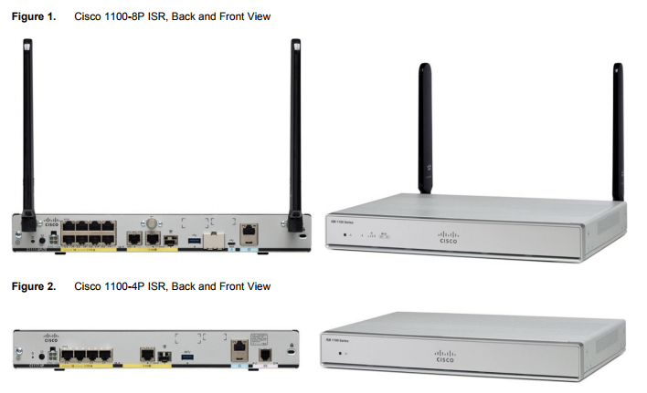 The Latest Cisco 1000 Series ISRs/1100 Models, Next