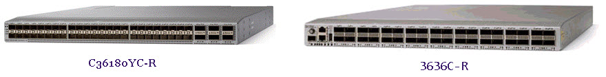 New, Cisco Nexus 3600 Models-C36180YC-R and 3636C-R – Router