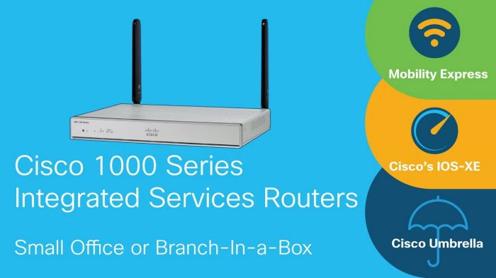 NEW: Cisco 1000 Series Integrated Services Router – Router